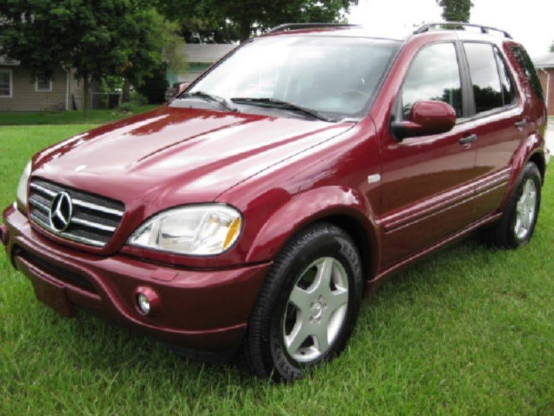 """In the Year 2525"" Singer's Mercedes ML55 for $14,000!"