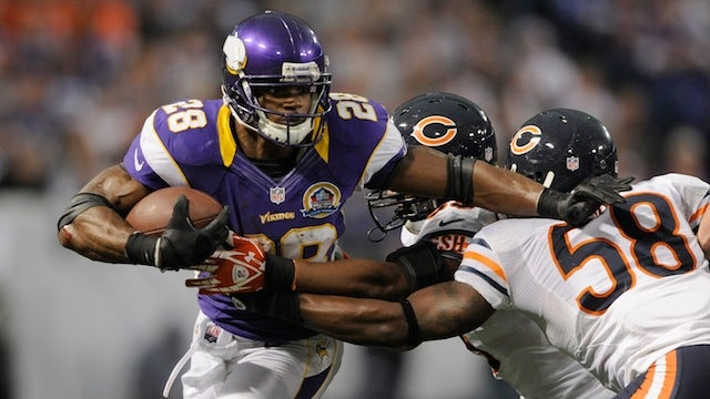 Root For Adrian Peterson, Because Football Is An Asshole