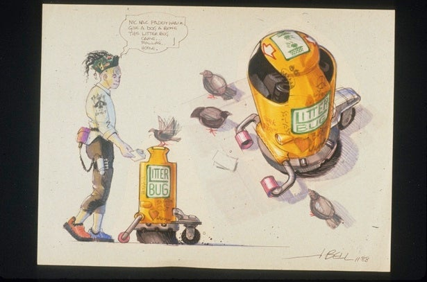 Back to the Future II Concepts Gallery