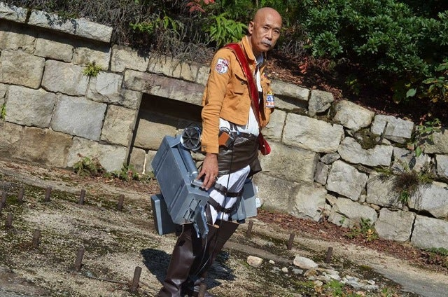 The Coolest 64 Year-Old Cosplayer I've Ever Seen