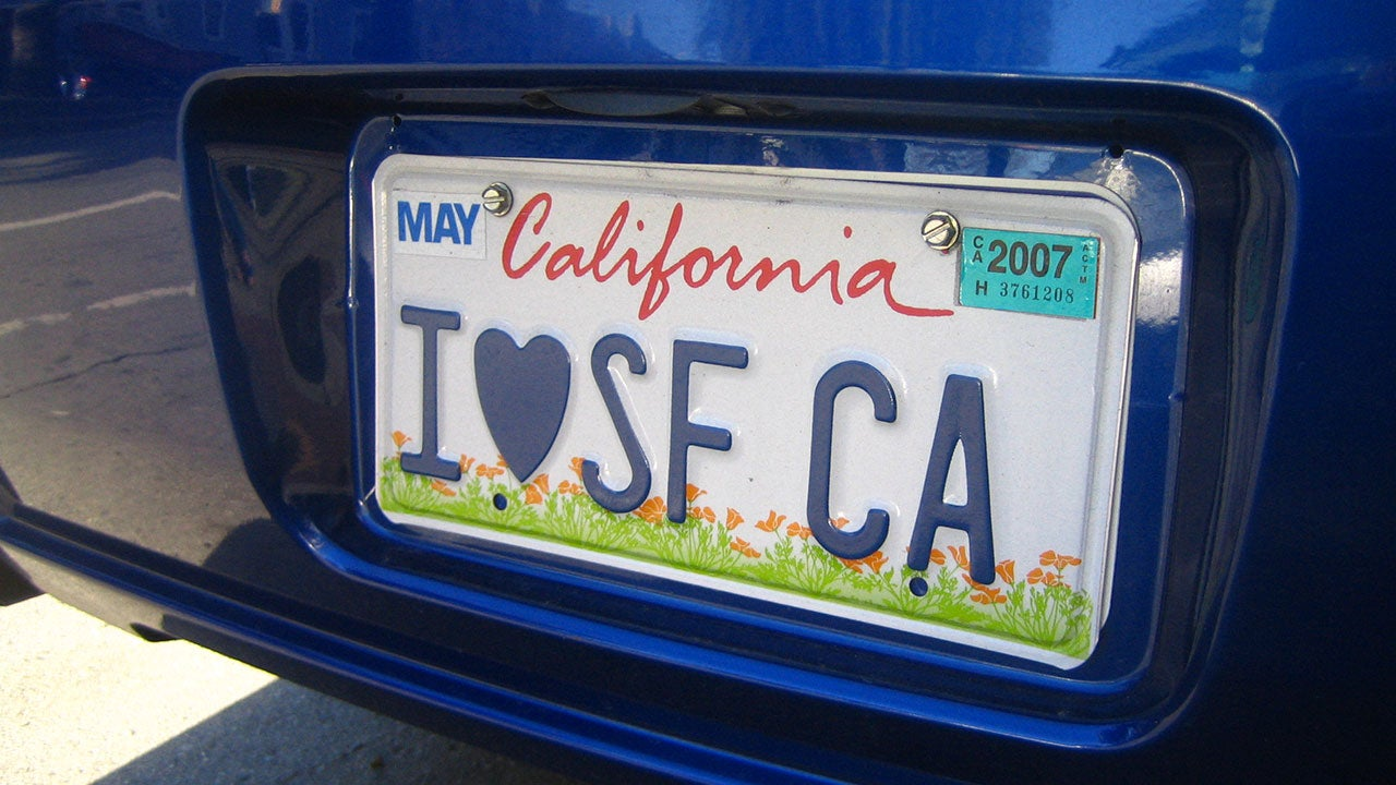 how to change name on car registration