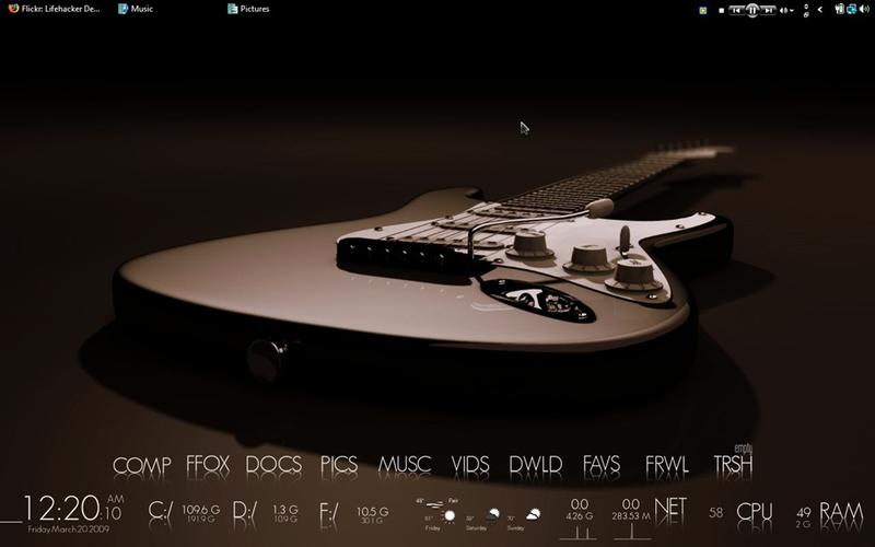 The Stratocaster Desktop
