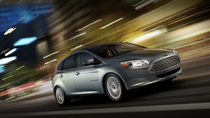 The Ford Focus Electric will cost almost $40,000