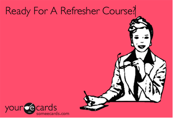 Refresher Courses: Rules & Guidelines For Commenting