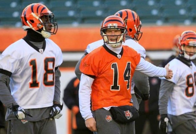 Andy Dalton Has Finally Stopped Pooping