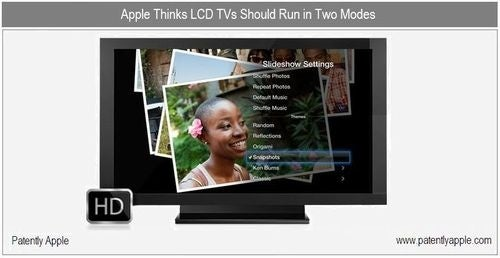Apple Patent For Making Your LCD TV an Even Better Digital Photo Frame