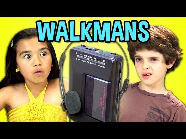 Kids Reacting to an Old Cassette Walkman Is Wonderful and Horrifying