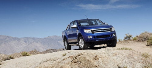 2011 Ford Ranger T6: First Photos