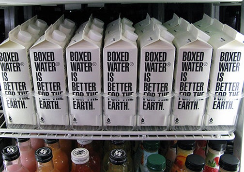 Boxed Water: It's What's for Drinking