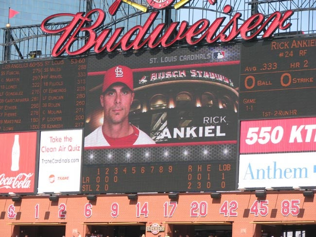 Our Rick Ankiel Weekend