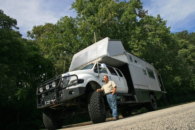 EcoRoamer: The High-Tech, Zombie-Proof Survival RV