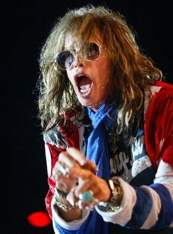 Aerosmith's Steven Tyler Can't Stop Falling Off the Stage