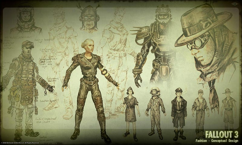 Duck, Then Cover, It's Some Fallout 3 Concept Art