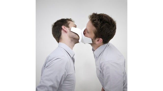 A Kissing Mask Is Like Training Wheels for Make Out Sessions (NSFW)
