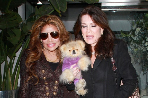LaToya Jackson, Lisa Vanderpump & A Little Gigolo Have Lunch