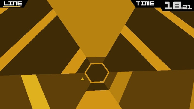 The Time You Killed Playing Super Hexagon Lives Again