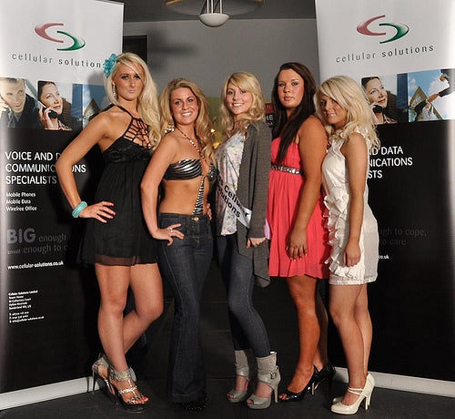 Cellular Solutions Also Hosts a Beauty Pageant