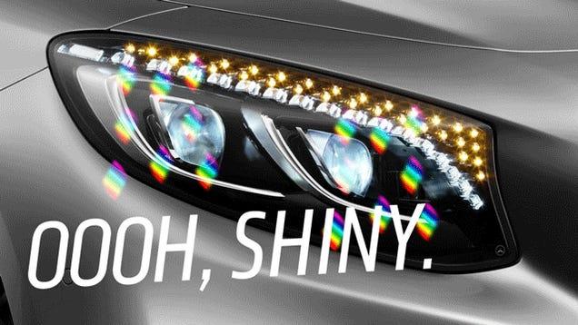The Secret Of Swarovski Crystal Headlights: They're Stupid And Fake
