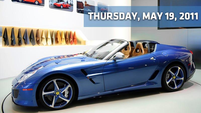 GM pumps up the Volt, Ferrari Superamerica 45 and Citroen's secret brake