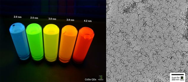 Why Your Next TV Could (and Should) Be Stuffed With Quantum Dots