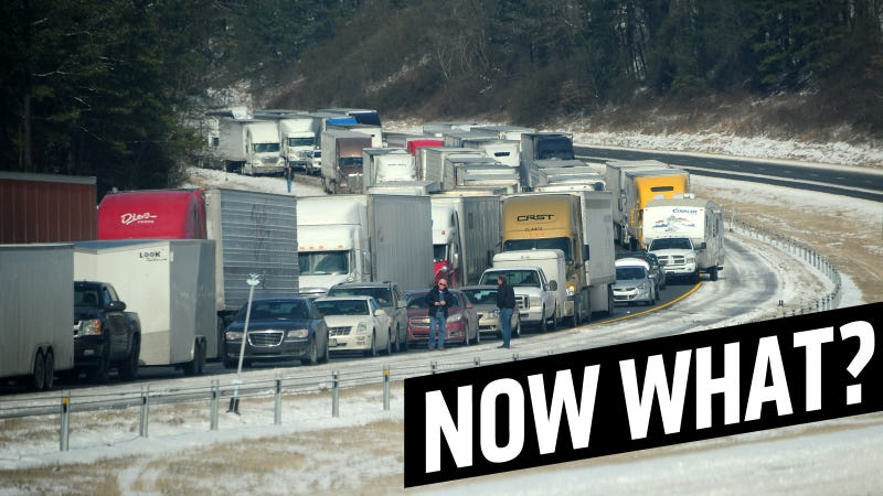 What To Do (And What Not To Do) When You're Trapped On The Highway