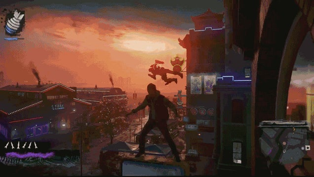 Glitches Make Infamous: Second Son Really Silly