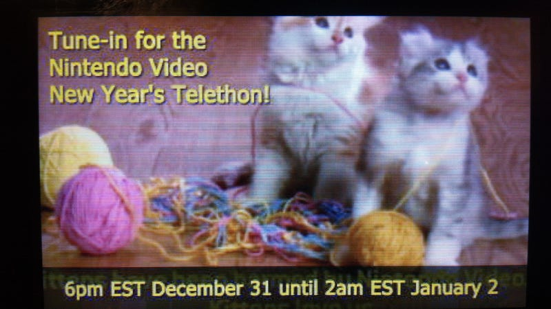 Nintendo To Host New Year's Eve Video Telethon on Your 3DS
