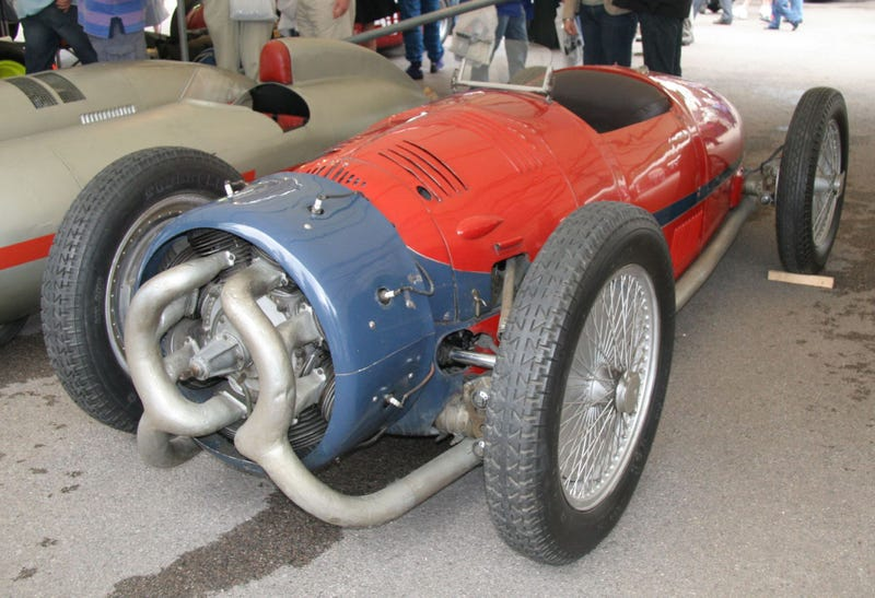 Radial Engined Car