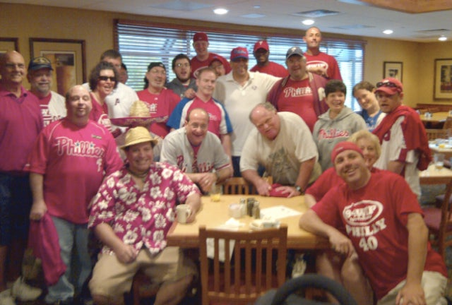 The Story Of The 40 Phillies Fans Who Took A Bus To Nationals Park (And The 38 Who Returned)