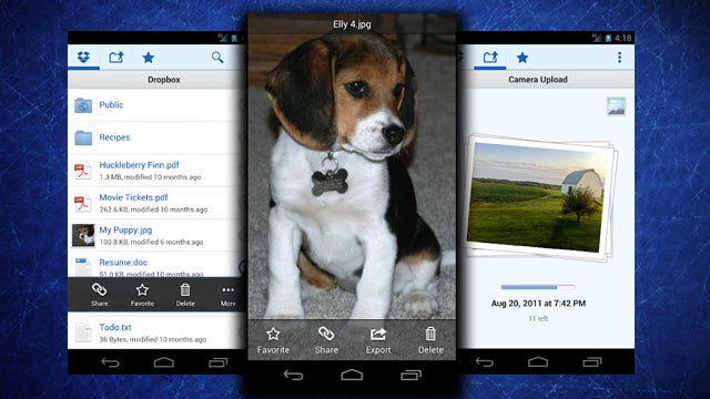 Dropbox for Android Adds Automatic Uploads of Pictures and Videos