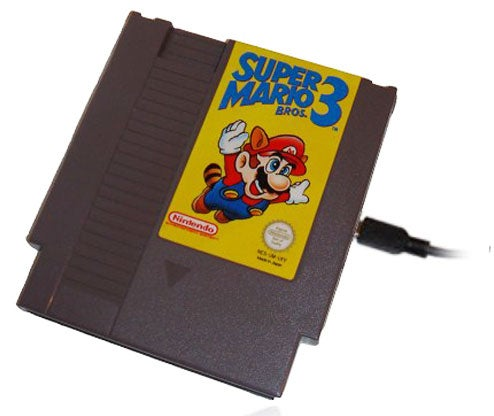 This NES Cartridge Now Stores 250GB of Anything