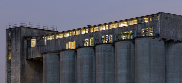 These Crumbling Industrial Silos Hide Beautiful New Spaces