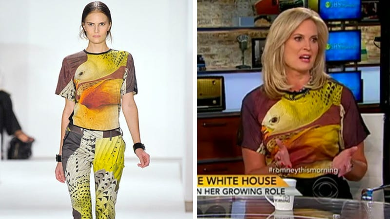 Ann Romney's Weird Bird Shirt Cost $990