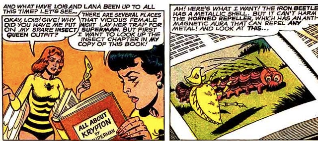 10 insane scenes from the time Lois Lane turned into a giant insect