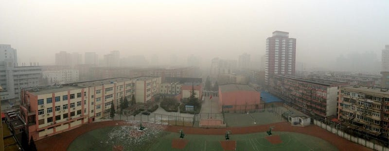Beijing's Smog - It's Like Living in Silent Hill All the Time