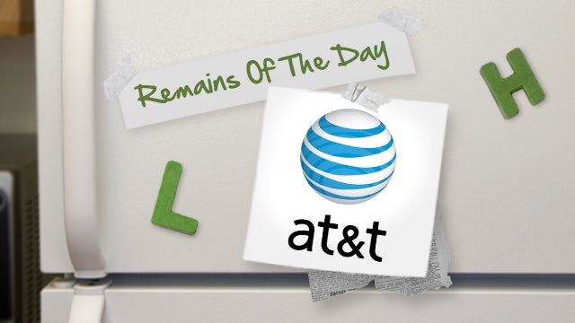 Remains of the Day: AT&T Shared Data Plans Coming in August