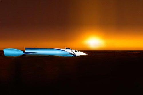Steve Fossett Land Speed Record Racer