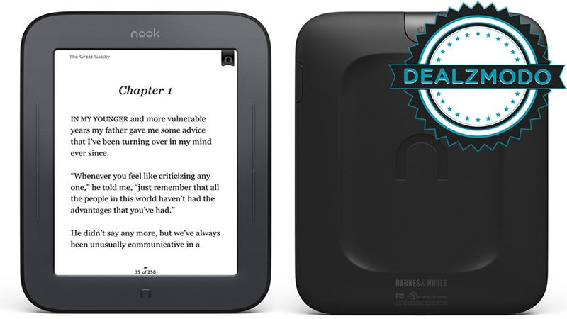 Dealzmodo: Nook Simple Touch, ASUS Monitor, Sodastream, Lots Of Apps