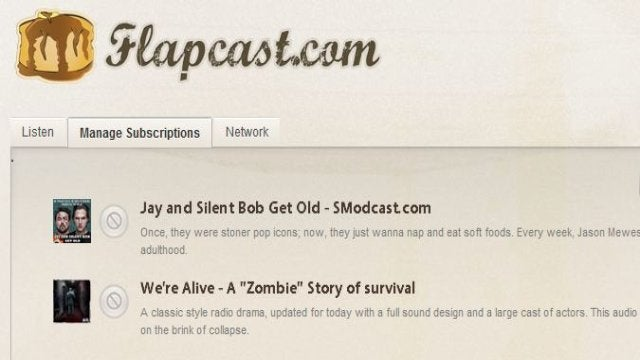 Flapcast Organizes and Streams Podcasts in Your Browser
