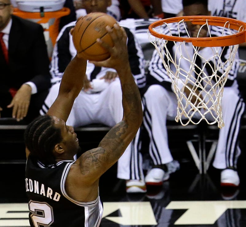 The Spurs Just Completed The Best Shooting Half In NBA Finals History