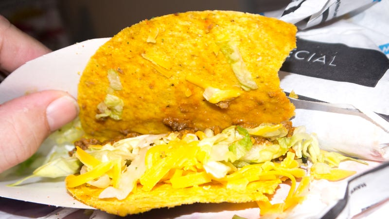 Taco Bell Cool Ranch Doritos Tacos: The Snacktaku Review