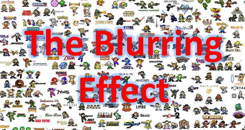 DSB: The Blurring Effect As It Relates To Video Games