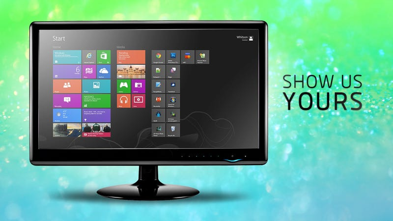 Share Your Windows 8 Desktop and Start Screen
