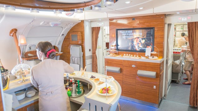 A Bar On Board A Plane? Now You're Talking