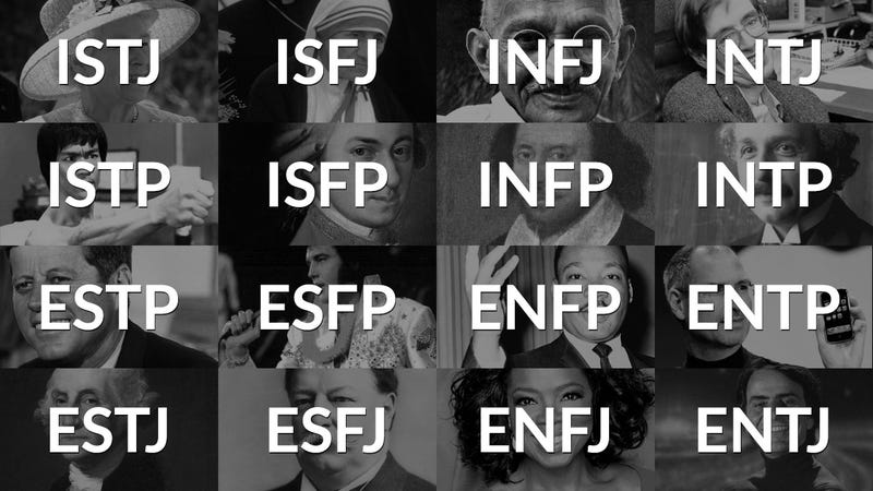 What Myers-Briggs Personality Type Are You?