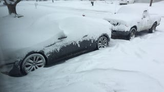 How Bad is Your Car Snowed In?