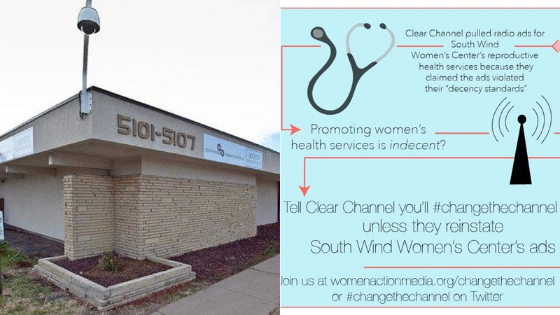 Clear Channel Won't Run Women's Center Ads Because They're 'Divisive'