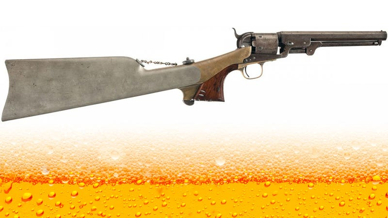 Why Don't Pistols Come With Built-In Flasks Anymore?