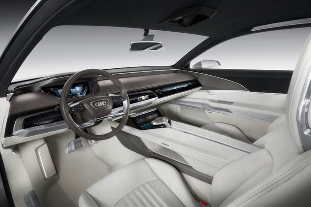 This Touch Screen Car Interior Is A Realistic Vision Of The Near Future