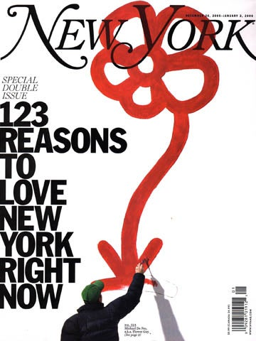 The New Year's Exodus at New York Mag